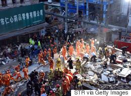 Chine: 22 morts dans l'effondrement de maisons décrépies