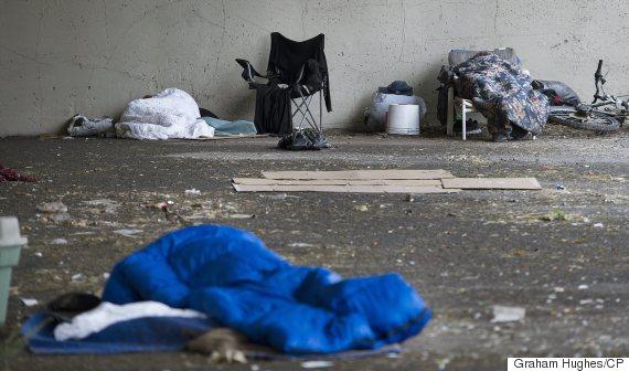 homeless canada