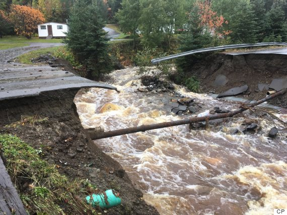 newfoundland rain october 2016