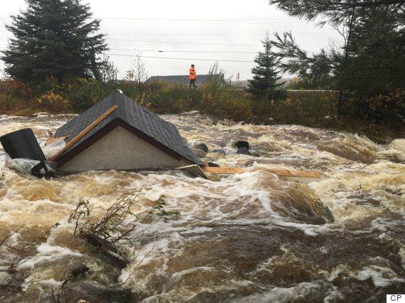 newfoundland rain weather october 2016
