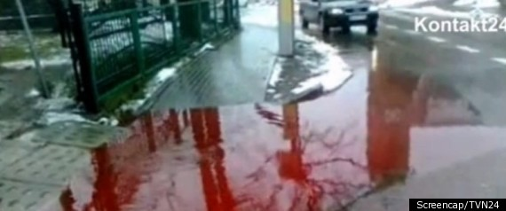 POLISH TOWN BLOOD STREETS KOSCIERZYNA