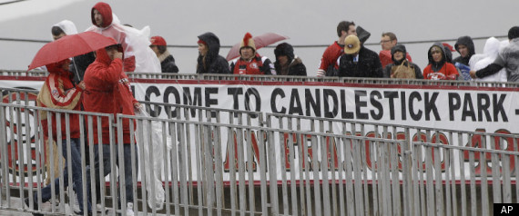 Candlestick Park Arrests