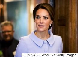 Duchess Kate Delights Royal Watchers On British Airways Flight