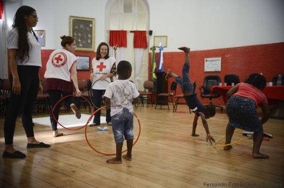 filhos refugiados