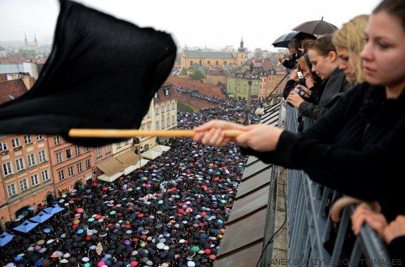 manifestación polonia