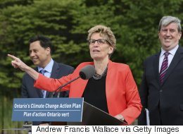 Kathleen Wynne Blames Your Family For Costly Ontario Climate Plan