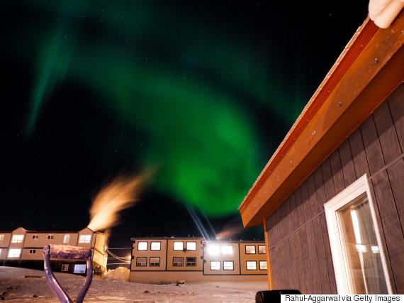 northern lights iqaluit nunavut