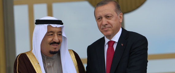 THE KING SALMAN ERDOGAN