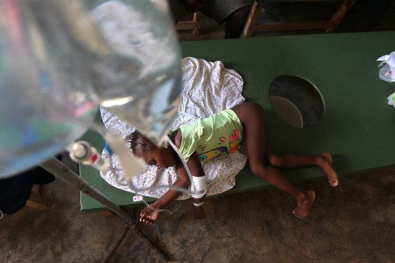 cólera haití ninos
