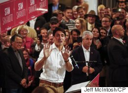 Trudeau Brings Out Huge Crowds In Tory Heartland