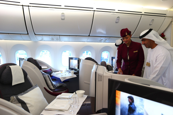 business class airplane