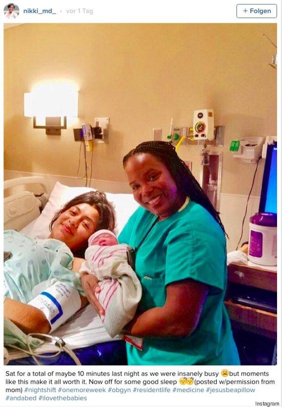 krankenschwester baby