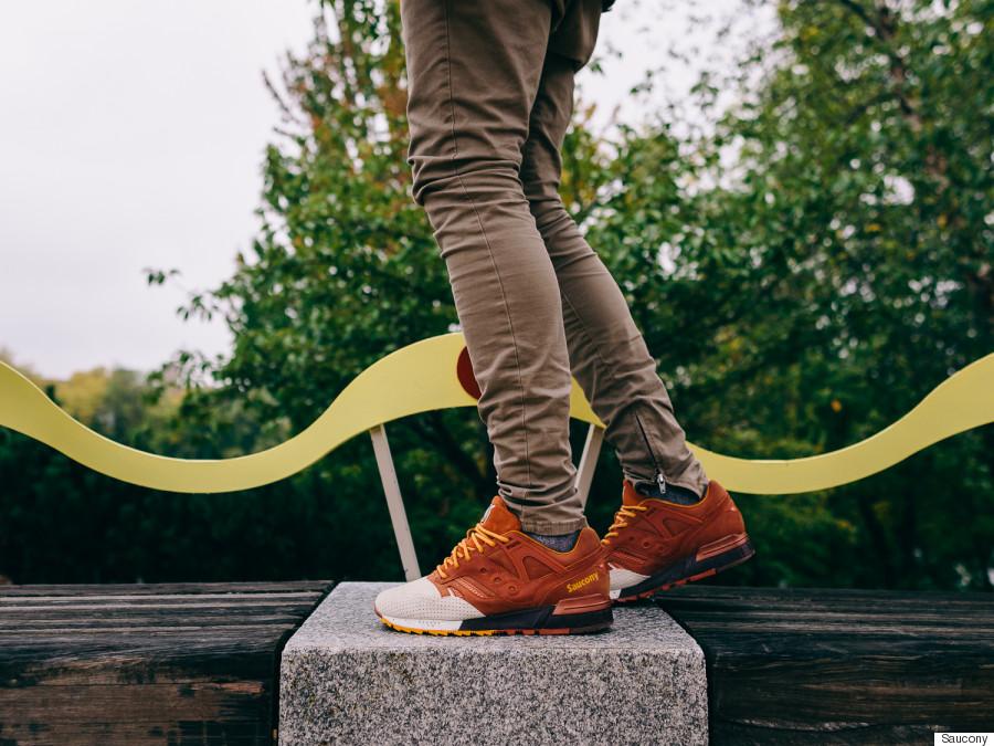 pumpkin spice sneakers