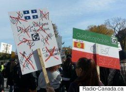Des groupes anti-immigration se font entendre à Québec