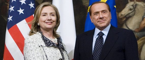 CLINTON BERLUSCONI