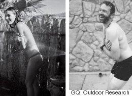암벽등반 선수들이 GQ 화보의 성차별 문제를 꼬집은 방법은 참신하다(사진)