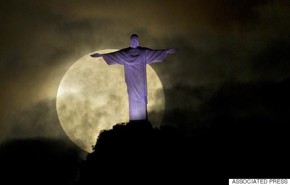 supermoon brazil