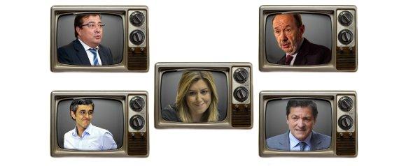 TELEVISORES PSOE