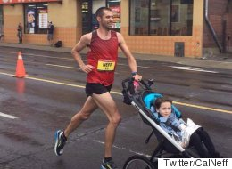 Yes, There's A Stroller Marathon World Record And This Dad Beat It