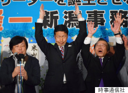 新潟知事選、再稼働反対派の64%が米山隆一氏に投票 朝日出口調査