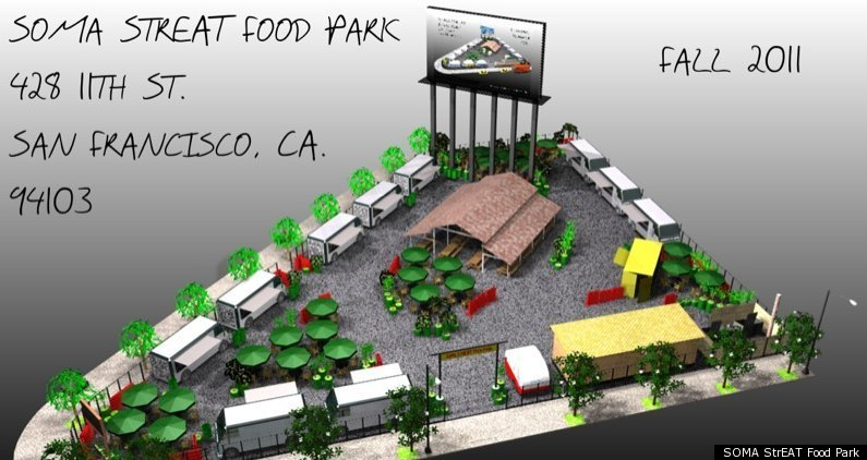 SOMA StrEAT Food Park, San Francisco's First Street Food Pod