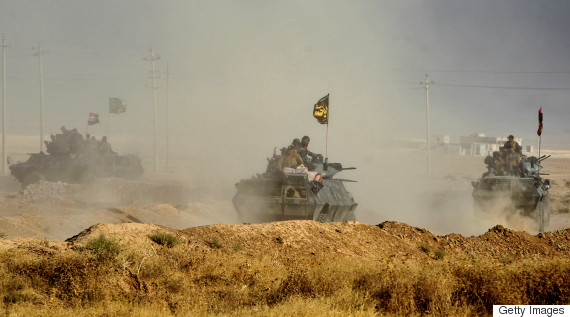 Iraq launches Mosul offensive, but bombs slow progress