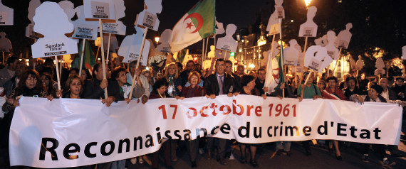 17 OCTOBRE MANIFESTATION  PAIS