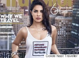 Priyanka Chopra Apologizes For Magazine Cover Insulting Refugees
