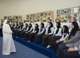 في خطوة جديدة وزراء الإمارات في اجتماع بمراقبة طلاب المدارس