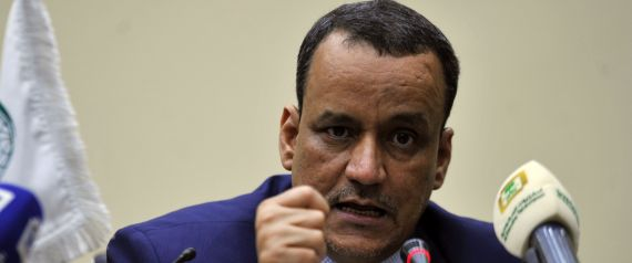 UN ENVOY TO YEMEN ISMAIL OULD CHEIKH AHMED