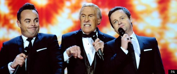 Sir Bruce Forsyth Ant And Dec