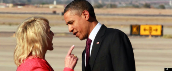 Jan Brewer, Obama Face Off Over Book, Immigration Issues Brewer said Obama told her « that he didn't feel I had treated him cordially. »