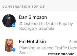 Facebook veut vous suggérer des sujets de conversation sur Messenger