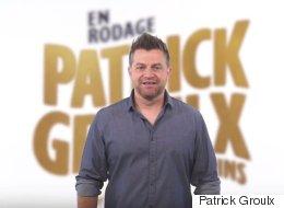 Patrick Groulx revient sur scène avec des «p'tits pas fins»