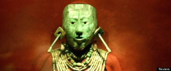 Mayas Masques Les Masques Mayas Arrivent