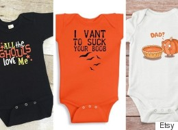 18 Funny Halloween Onesies Perfect For Your Little Monster