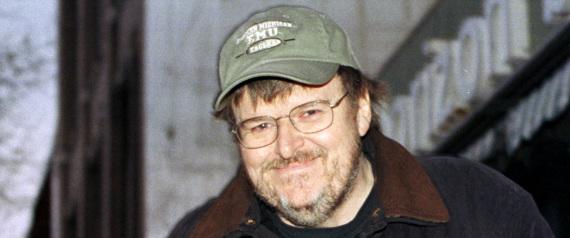 LEFTIST FILMMAKER MICHAEL MOORE
