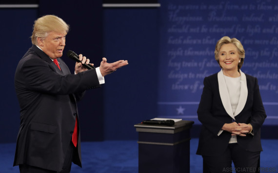debate clinton trump