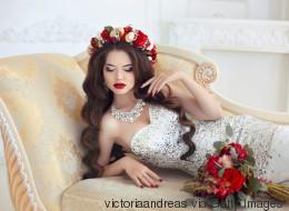 Hochzeit: Ideen für Brauttfrisur mit offenen Haaren