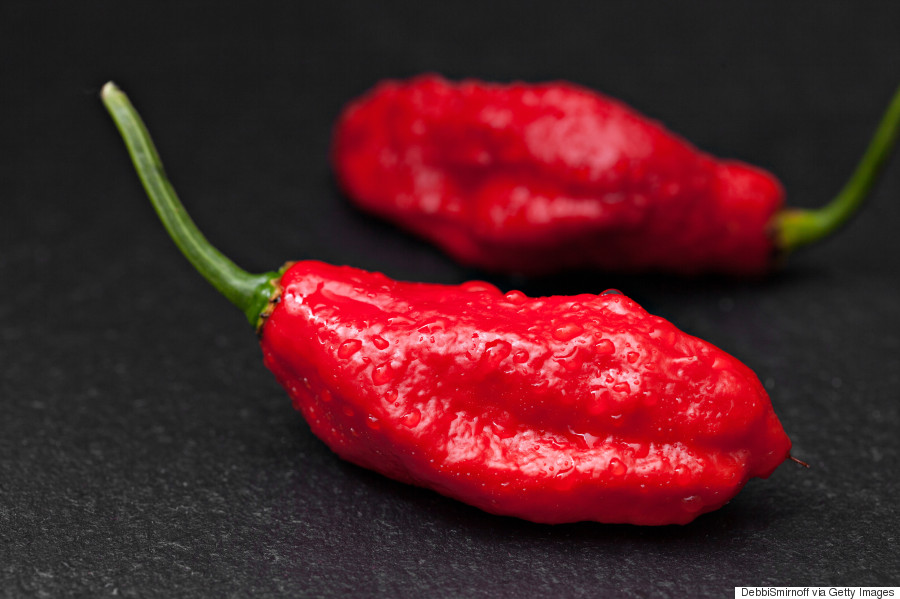 Chilli challenge burns 2.5cm hole in man's oesophagus