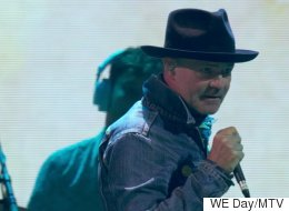 Gord And Mike Downie Pass The Torch To WE Day Toronto's Youth