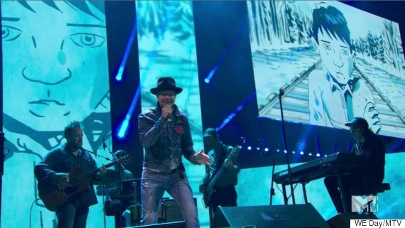 gord downie we day