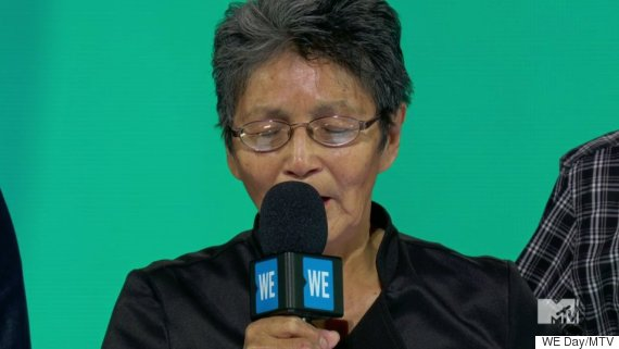 pearl wenjack we day