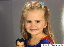 Pour sa photo de classe, cette fillette a choisi d'être une...