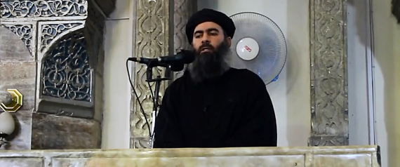THE LEADER OF ALBAGHDADI OF THE ISLAMIC STATE