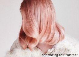 La tendance des cheveux roses gold vous redonnera vie