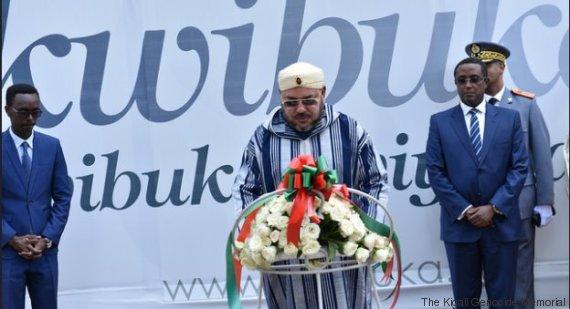 mohammed vi au kigali genocide memorial