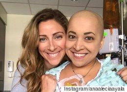 항암 치료도 이 여성의 흥을 멈출 수 없었다(동영상)