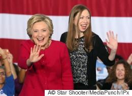 힐러리 클린턴의 딸이 트럼프의 '끔찍한 여자' 발언에 대해 입을 열다