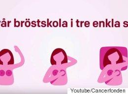 Pour Facebook, cette vidéo de dépistage du cancer du sein est trop osée